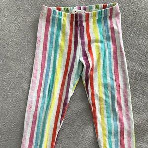 Paper Wings Rainbow Stripe Leggings